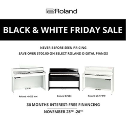 /news/2018/Roland-Black-and-White-Friday-Sale
